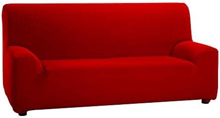 Martina Home Tunez - Funda de sofá, Medida desde 70 a 110 cm, Rojo, 1 Plaza