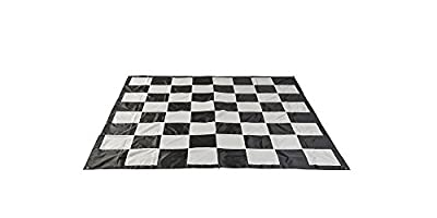 Hammer Crown Garden Vinyl Chess Mat; Fits Garden Chess Pieces Set (12-Inch King)