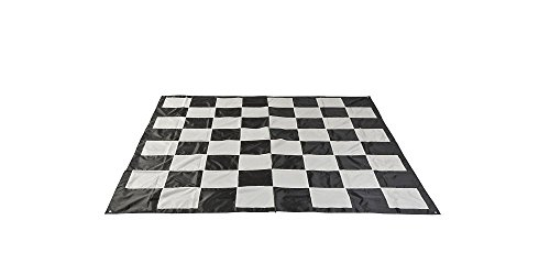 Hammer Crown Giant Nylon Chess Mat; Fits Giant Premium Chess Pieces Set (25-Inch)
