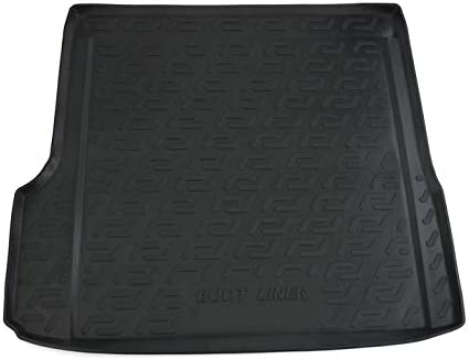 Black Rubber Trunk Cargo Liner Floor Mat Mats VM425 Tray Carpet Mud Guard Cover Protector All Weather Car Accessories Compatible With BMW X3 E83 2003 2004 2005 2006 2007 2008 2009 2010