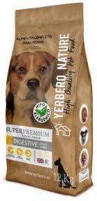 YERBERO Nature Digestive Pollo/arroz Comida Hipoalergénica para Perros 12kg