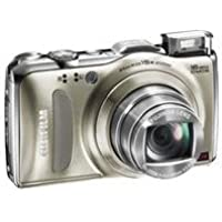 Fujifilm FinePix F600EXR Digital Camera, 16MP Resolution, 3.0 inch LCD Display, 15x Optical Zoom Lens, Gold