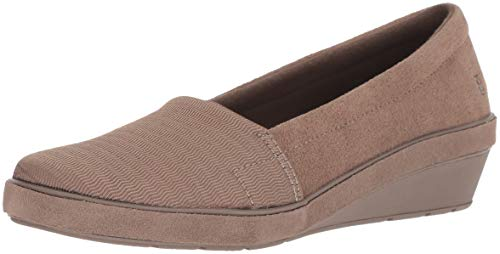 Chase Wedge Suede Loafer, Walnut, 8 M US ()