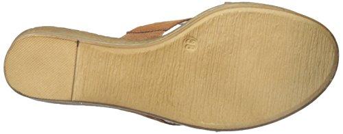Athena Alexander Women's Rialto Wedge Sandal, Sparkle, 5 M US Brown Suede