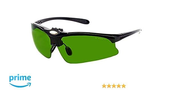 f9e9312f04 Gafas Protección IPL Depilación Accesorios Luz Pulsada Intensa 190-1800nm  F4 IPL-5R: Amazon.es: Deportes y aire libre