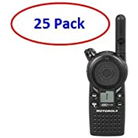 25 Pack of Motorola CLS1110 Two-way Radios with Programming Video