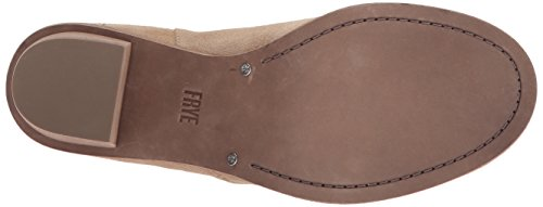 Bootie Frye Ankle Boot Women's Zip Brielle Beige ZTqnwtTRF