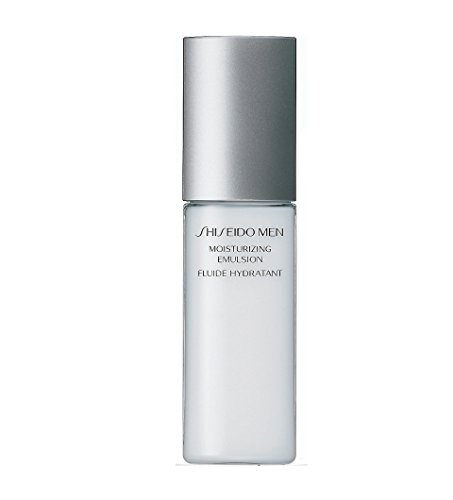 - Shiseido Men Moisturizing Emulsion for Men, 3.3 Ounce