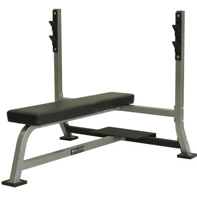 Valor Fitness Exercise Equipment Olympic Bench w/ Spotter