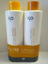 ISO Tamer Shampoo/Conditioner Liter Duo 33.8oz/bottle ()