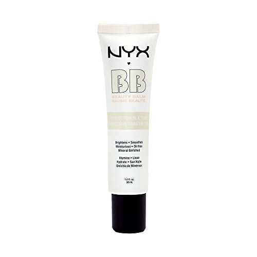 NYX Professional Makeup BB Cream, Nude, 1 Ounce