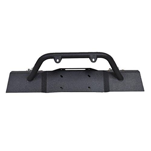 23aa6573a9 outlet Goplus Front Bumper For 2007-2016 Jeep Wrangler JK With Hooks & Fog  Light