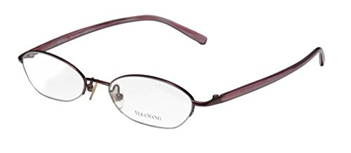 vera-wang-v138-womens-ladies-rx-able-exclusive-designer-half-rim-eyeglasses-eyewear-48-17-135-amethy
