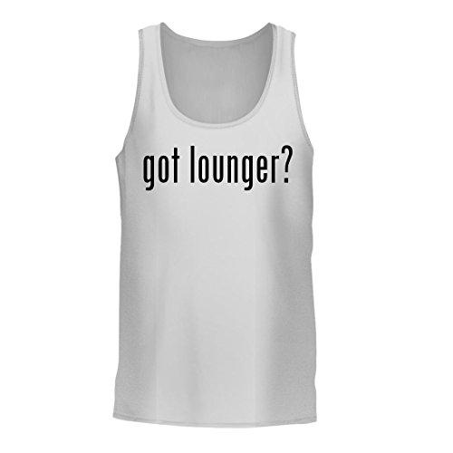 got lounger? - A Nice Men's Tank Top, White, Large