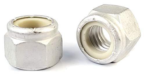 Aluminum Nylon Insert Lock Nuts Lock/Stop/Nyloc Nuts #8-32 QTY 250