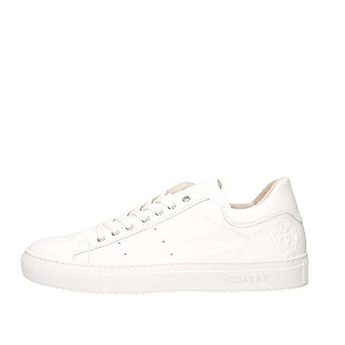 Pelle Cesare Uomo Sneakers Di Paciotti Bianco P Kb10 0qBHrxqI