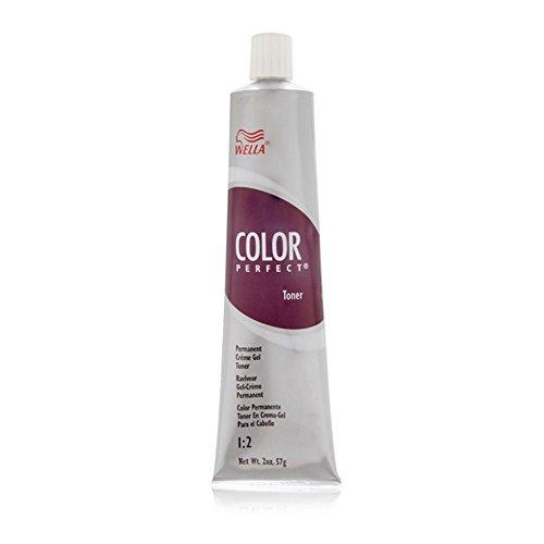 Wella Color Perfect Toner Permanent Creme Gel Toner 1:2 T9B