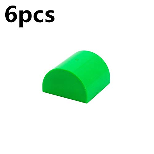 Basic Bricks - Big Size DIY Accessories Building Blocks 2X2 Arched Brick Assembled Parts Compatible with Legoingly Duplo Toys for Children Gift - by Orchilld - 1 PCs