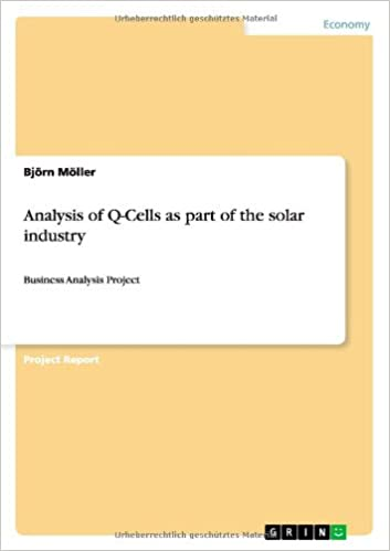Analysis of Q-Cells as part of the solar industry