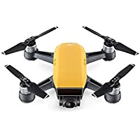 DJI Spark Mini Quadcopter Drone Fly More Combo (Sunrise Yellow)
