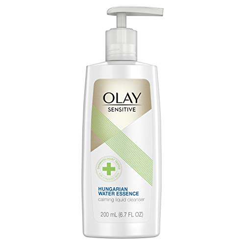 - Olay Facial Cleanser for Sensitive Skin, with Hungarian Water Essence, 6.7 Fl Oz
