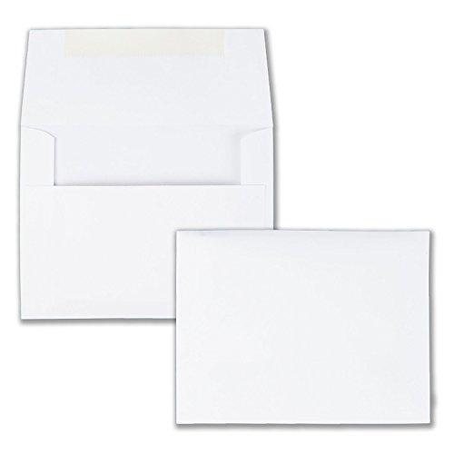 "100 Hot Pink #10 Envelopes - 9.5"" x 4.125"" - Standard Flap"