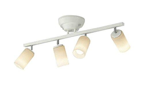 コイズミ照明 シャンデリア 白熱球60W×4灯相当 リモコン マットファインホワイト塗装 AA47246L B072K3W3F5 31924