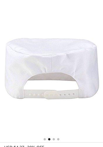 Newshine Chef Scull Caps White