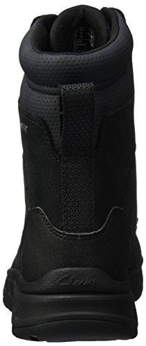 Nero GTX Hi Uomo Black Stivali Clarks da Edlund Neve Nubuck q0EwxSn