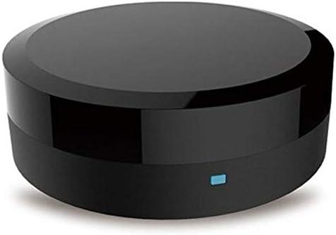 جهاز تحكم عن بعد مصغر منزلي مزدوج يعمل بالأشعة تحت الحمراء وجهاز تحكم في الصوت بتقنية الذكاء الاصطناعي في جهاز التحكم في الصوت عن طريق أليكسا جوجل هوم جهاز تحكم عن بعد