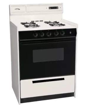 SNM6307CDK 24 Freestanding Gas Range with 4 Open Burners 2.92 Cu. ft. Capacity Manual Clean Broiler Drawer & Porcelain oven in Bisque