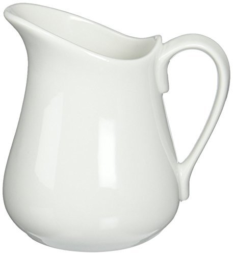 - Bia Cordon Bleu Inc Bia Cordon Bleu Inc 900145 16 Oz White Porcelain Pitcher, White