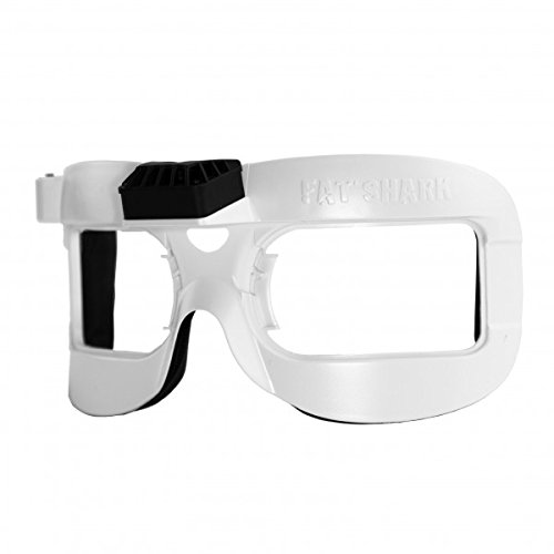 Fat Shark FSV2646 - White Fan Equipped Faceplate V2 for Dominator V2, V3, HD, HD2 and - Face For Fat Best Glasses