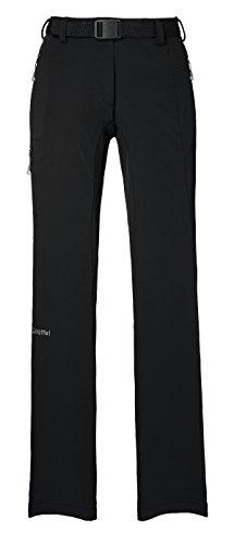 Schöffel Pantalón Outdoor Mujer. extraligero. Pantalones de invierno con forro polar. Black.