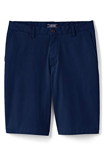 Lands End Mens 11 Traditional Fit Comfort First Knockabout Chino Shorts