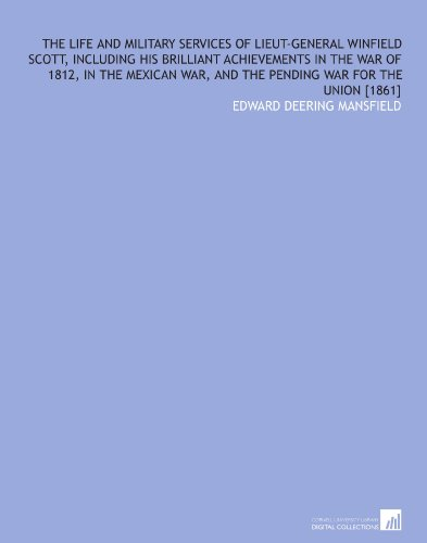 the life and times of winfield scott Agent of destiny: the life and times of general winfield scott, by john sd eisenhower, the free press, 1997 buy this book at amazoncom the encyclopedia of new york city, by kenneth t.