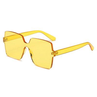 7 De Sol Moda Femenina C c Sol zhenghao Big Gafas Frame De Gafas Plaza 1 De Xue AXq6x