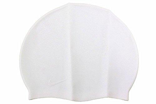 45bbcff1b35 Amazon.com: Nike Solid Silicone Swim Cap (Black): Clothing