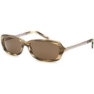 Yves Saint Laurent Womens Rectangle Sunglasses (Granite)