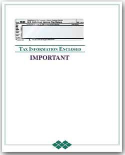 EGP Tax Form Priority Envelope with Window