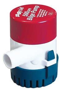 Transom Mount Livewell Pump (500 GPH Discharge Size: 3/4\) by Rule Group, Inc. ()