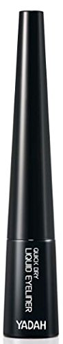 [Yadah] Quick Dry Liquid Eyeliner, 4.3 Gram, Quick Makeup (Black)