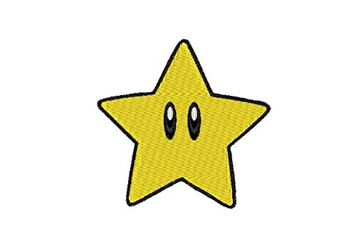 - Dawson Urban Design Patch Craft - Super Mario Brothers Star - (2