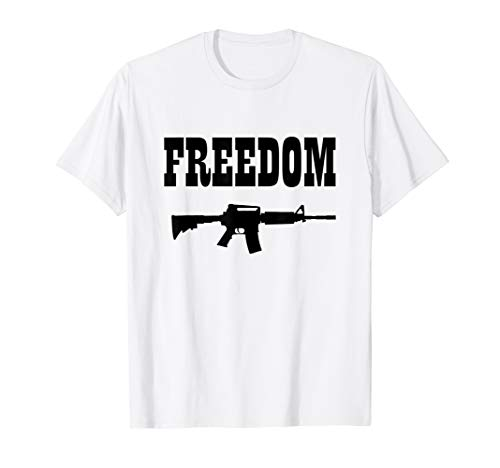 - Freedom fighter T-Shirt, AR-15, Independence
