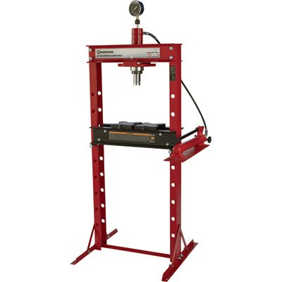 Hydraulic Ton Press 20 Shop (Strongway Hydraulic Shop Press with Gauge - 20-Ton Capacity)