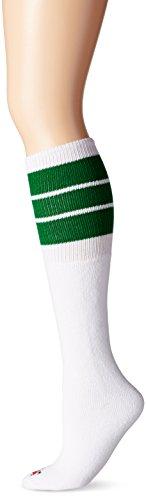 Wigwam Women's King Extra Long Tube Sock, Kelly, One (Kelly Green Soccer Arch)