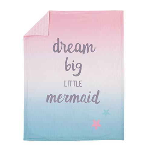 (NoJo Sugar Reef Mermaid Super Soft Ombre Baby Blanket )