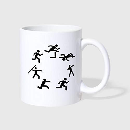 6c209ae31a7 Vehfa Funny Coffee Mug Heptathlon Mug 11 OZ