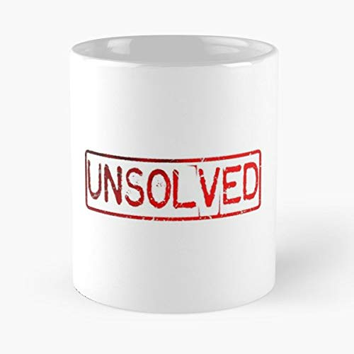 Buzzfeed Unsolved Blue Red - 11 Oz Coffee
