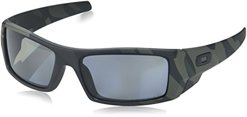 Oakley Men's Gascan Polarized Rectangular Sunglasses